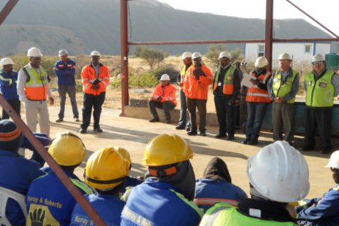 Design & Supervision of Construction of Raising of walls of Slimes Dam 7 at Jwaneng Mine with Waste Rock
