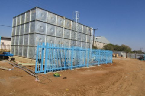 Upgrading of the Water Supply Infrastructure to Tlokweng Border Gate
